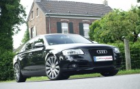 "Audi A6 Facelift-Umbau mit 20"" S-Line Leichtmetallrädern"