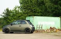 "Fiat 500 Individual in Sonderlackierung ""verde exclusive matt"" / Fiat 500 individual in special painting ""verde exclusive matte"""