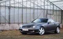 "Mercedes-Benz SLK Individual ""real steel"""