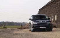 """Range Rover Sport Individual - Leichtmetallräder in 20"""" (bicolor) & Echt-Carbon Interieur in schwarz hochglanz"""