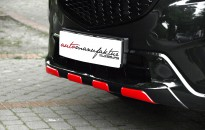 """Mazda CX-5 Individual - Komplettlackierung in jet black / Kontrastfarbe in chili red / Anbauteile in Klavierlack schwarz, Leichtmetallräder 20"""" im bicolor-Design, Sportauspuffanlage in Edelstahl"""