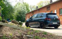 """VW Golf VI R Individual - Leichtmetallradsatz 19"""" im Turbinen-Design, H&R Fahrwerksfedern, SKN Sportabgasanlage, SKN Leistungssteigerung LS3 auf 246 kW / 334 PS & 444 Nm Drehmoment"""