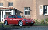 """Porsche Panamera 4S Individual - Leichtmetallräder """"Gemballa"""" in 22"""", Sportabgasanlage mit Klappensteuerung & Folierung in """"diamond red"""""""